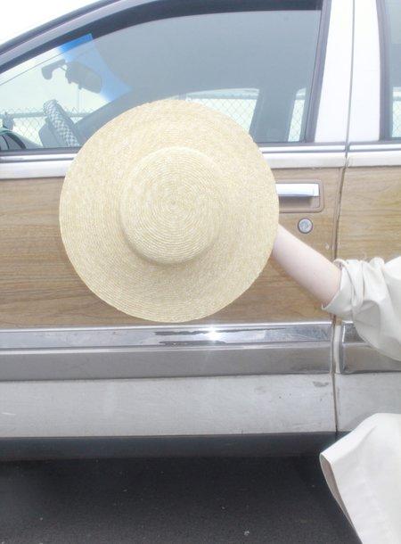 Clyde Brim Flat Top Hat