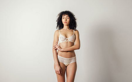 Lonely Patti French Brief - Ivory