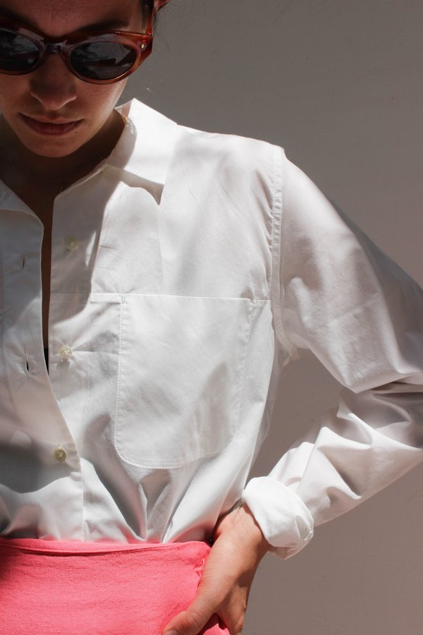 Sherie Muijs Shirt no. 01 - Porcelain