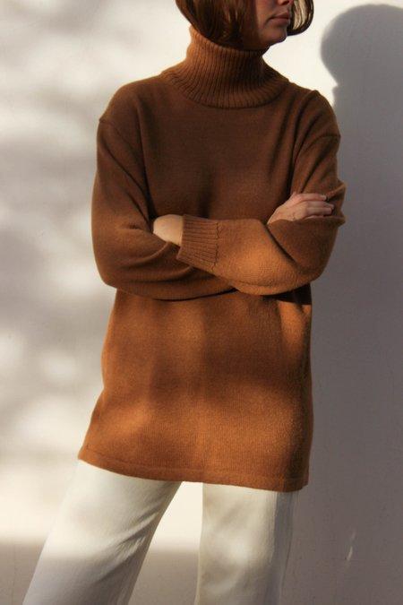 Osei-Duro Turtleneck Tunic Sweater - Khaki