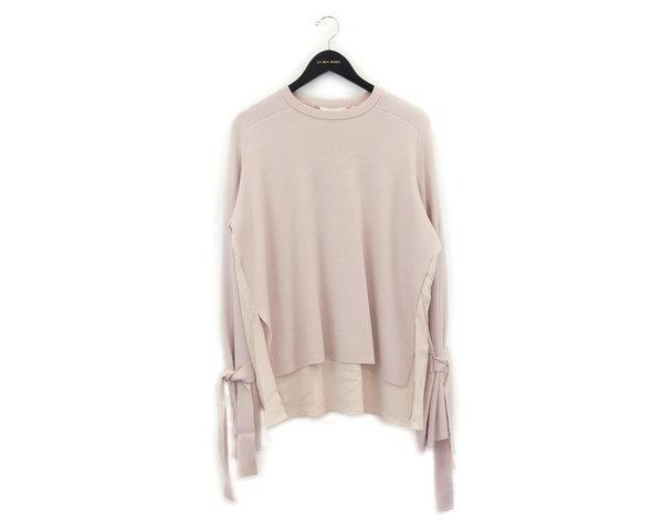 Tibi Merino Wool Silk Combo Sweater