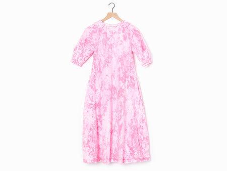 Comme des Garçons Marble-Dyed Dress