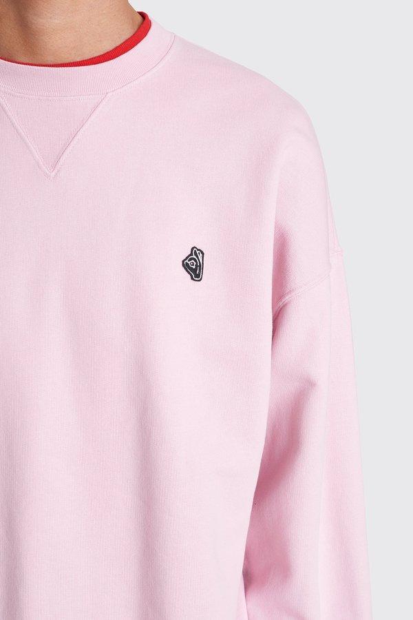Tres Bien Merch Sweat - Pale Pink