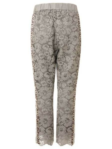 Coster Copenhagen Lace Trousers - Steel Blue