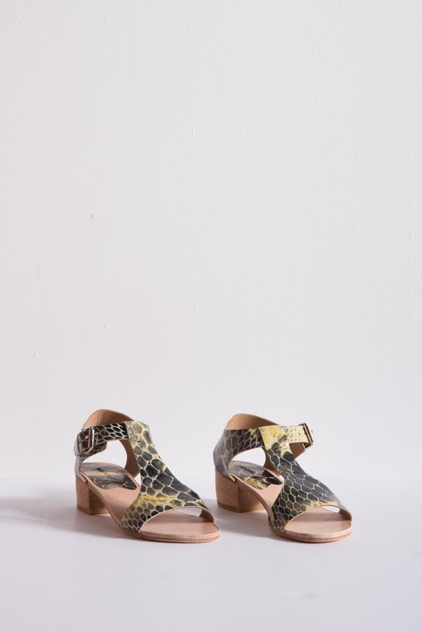 A Détacher Highsmith Sandal Leather - Snake