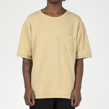 Manastash Snug Honeycomb Thermal T-shirt - Yellow