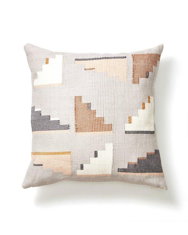 Minna Barragan Pillow - Light Grey