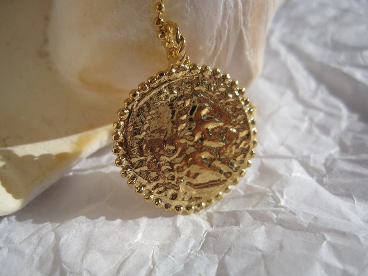 gold no constantinople hjst coin fullxfull listing necklace zoom plated il en medallion