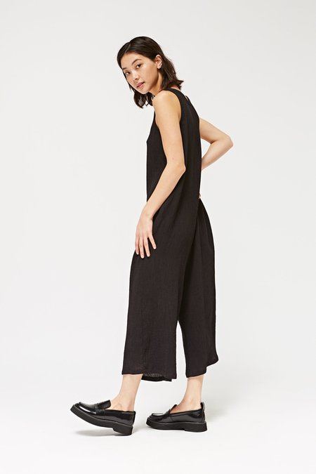 Lacausa Elderflower Jumpsuit in Tar