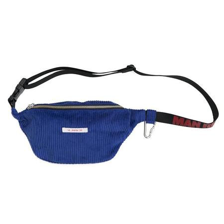 S.K. Manor Hill Fanny Pack X Man Repeller - Royal Blue Corduroy
