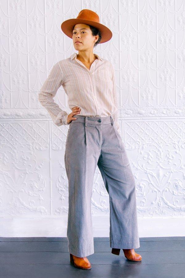 Grei Wide Wale Wini Pants - Grey