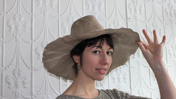 Reinhard Plank Wide Brim Straw Hat