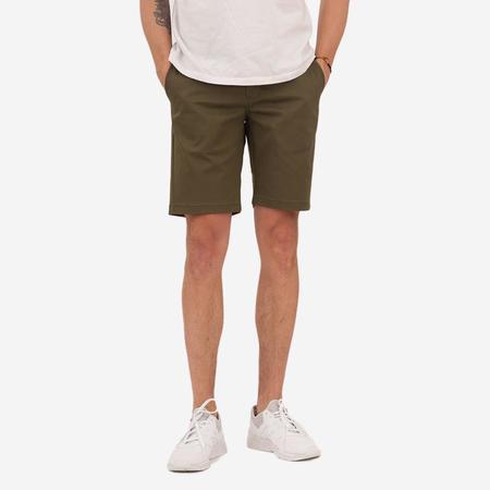 Bon Vivant Keenan Lightweight Twill Shorts - Olive Green