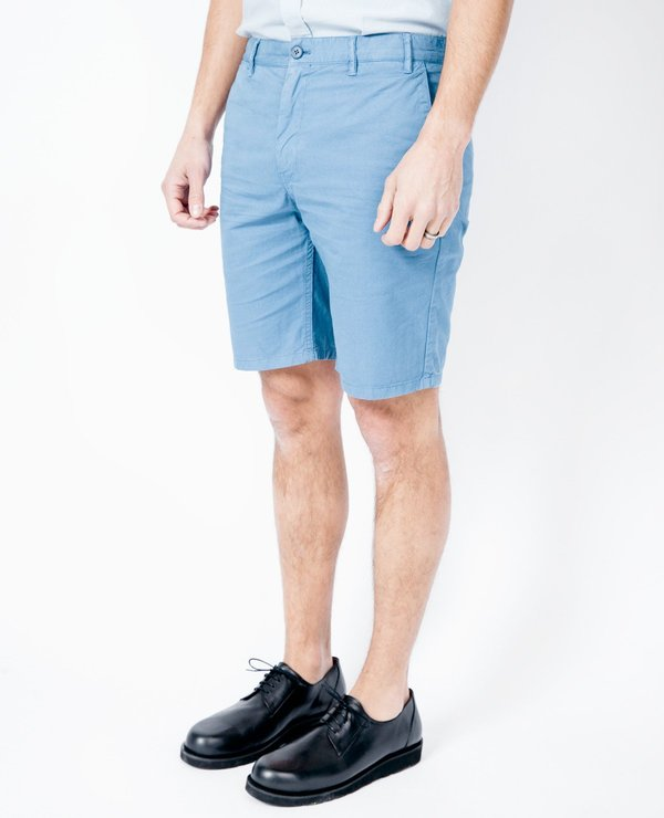 Norse Projects Aros Shorts - Marginal Blue
