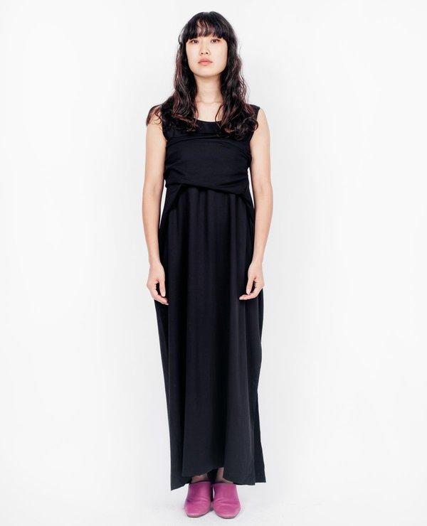 Shaina Mote Tie Dress - Black