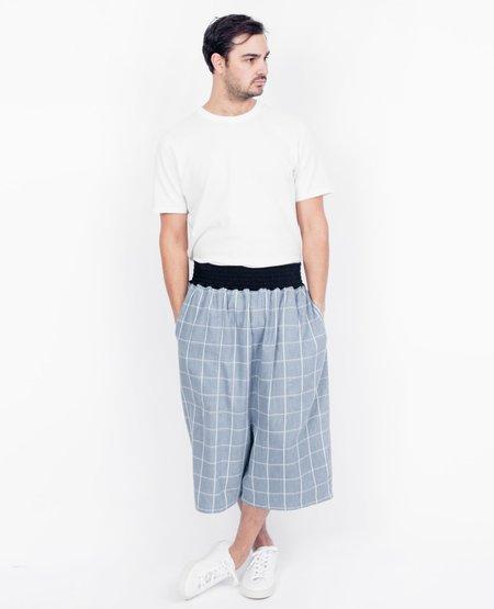 69 Duck Pants - Blue Plaid