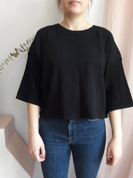 Eve Gravel Le Loup Top - Black