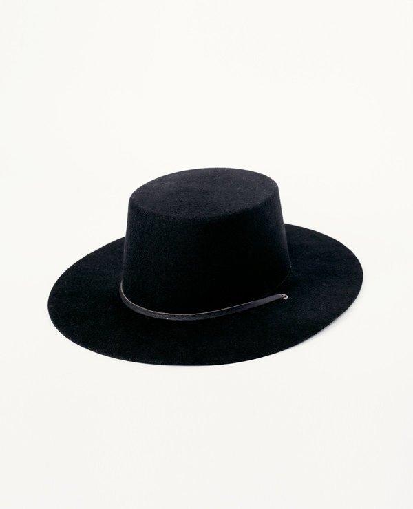 YELLOW 108 Benny Hat - Black