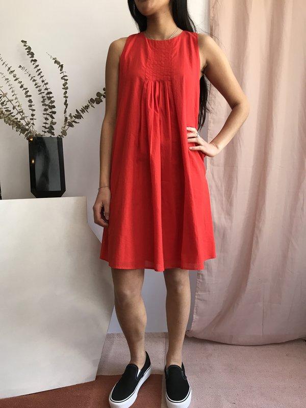 Valérie Dumaine Cass Dress - Rouge