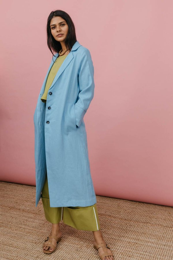 Wolcott : Takemoto Norma Jacket in Evian Linen
