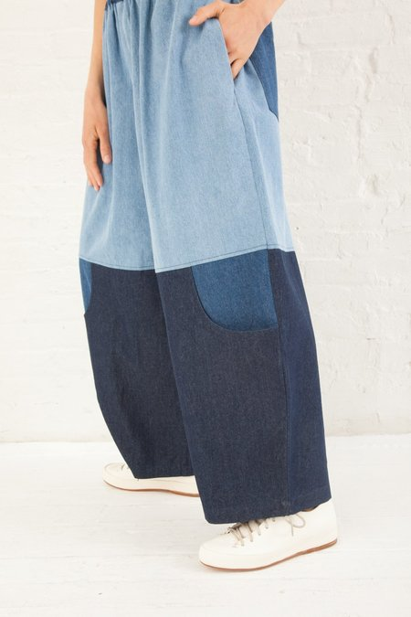 UNISEX 69 Knee Pocket Pants 8 oz. Denim - Multiwash