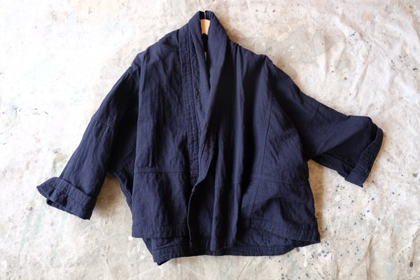 Atelier Delphine Kimono Jacket - Darkest Navy