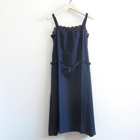 H+ Hannoh Wessel Rosalinde Dress - blue notte
