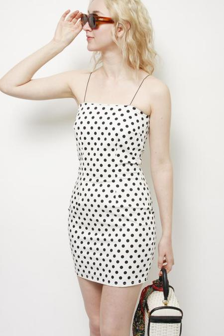 Style Addict Zara Dress - White/Black