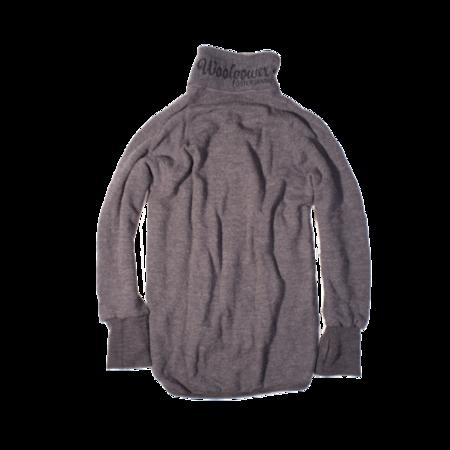 Unisex Woolpower 400g Full Zip - Grey