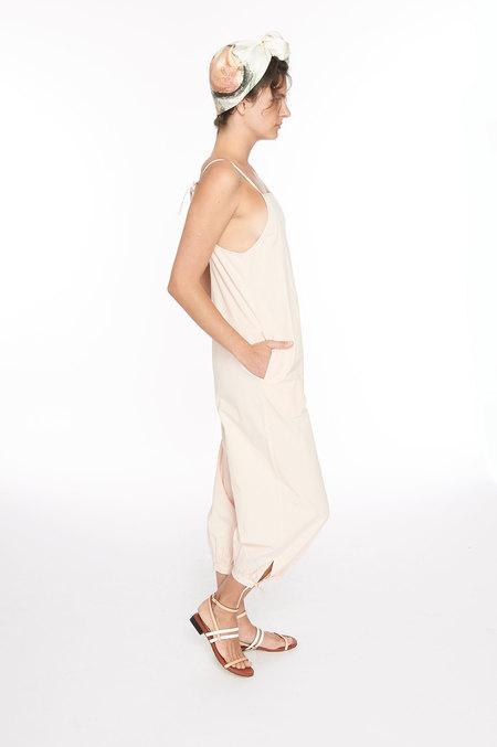 WRAY Ferry Jumpsuit - clay pink