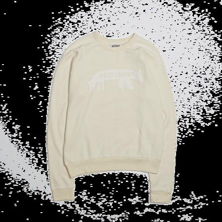 Unisex Westerlind Bearfox Sweatshirt - Natural