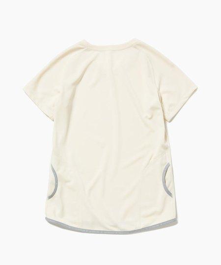Unisex And Wander Dry Jersey Raglan Short Sleeve Tee - Off White