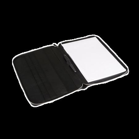 Bookbinders Design Leather Folder - Black