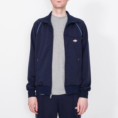 Unisex Battenwear Track Jacket - Navy/Sky Blue