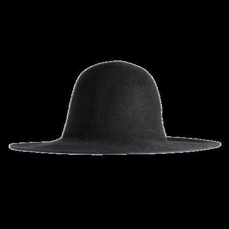 Unisex Westerlind Felt Hat -  Black
