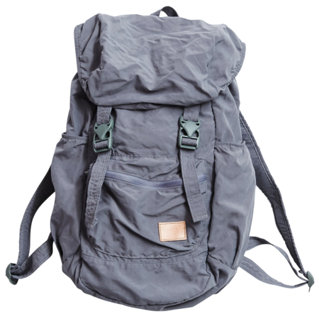 Unisex F/CE Nylon Packable Backpack - Grey