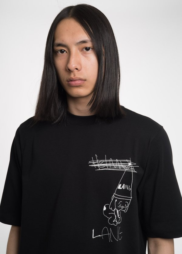 Helmut Lang Puppy T-Shirt - Black
