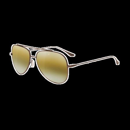 Unisex Vuarnet Swing Large Pilot Sunglasses - Matte Gunmetal
