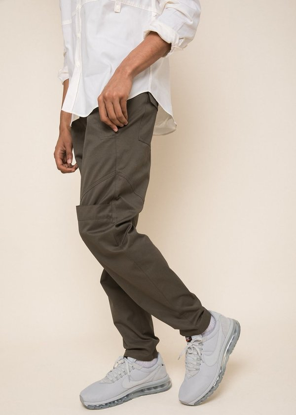 Unisex Abraham Sioux Pant - Army