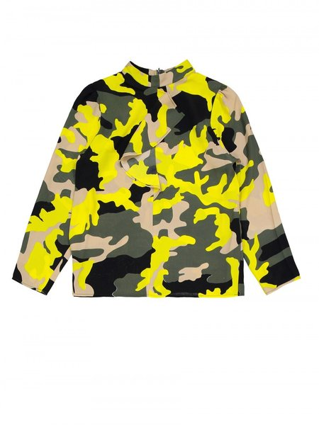 Won Hundred Linsey Shirt - Camouflage