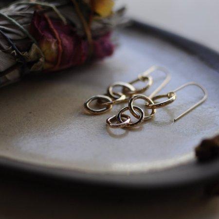 Meus Loop Earrings - Gold