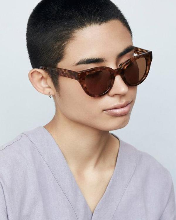 Carla Colour Barton Sunglasses - Amber
