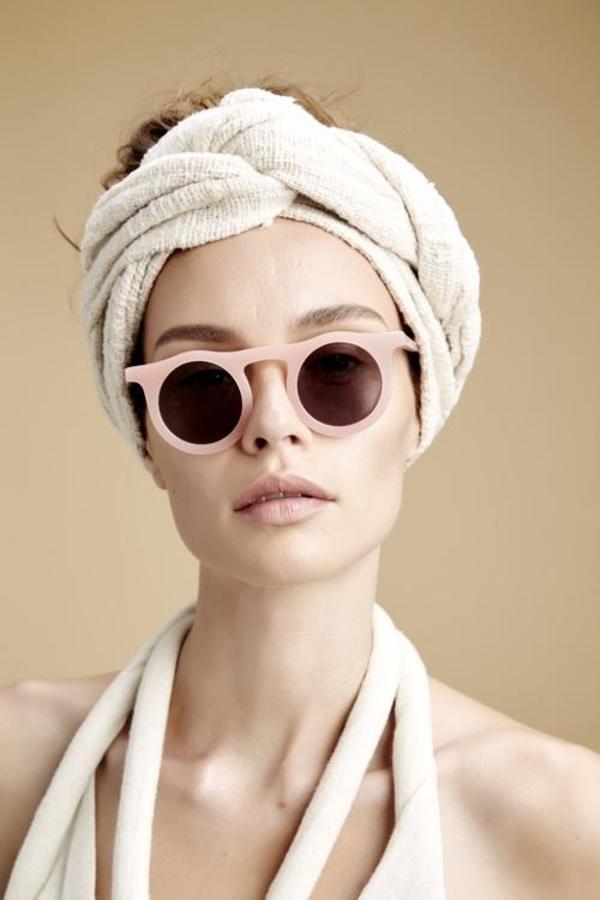 CARLA COLOUR Lind Glasses - Flesh