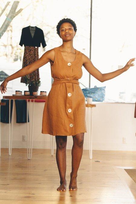 Stil Vivian Dress - Mocha
