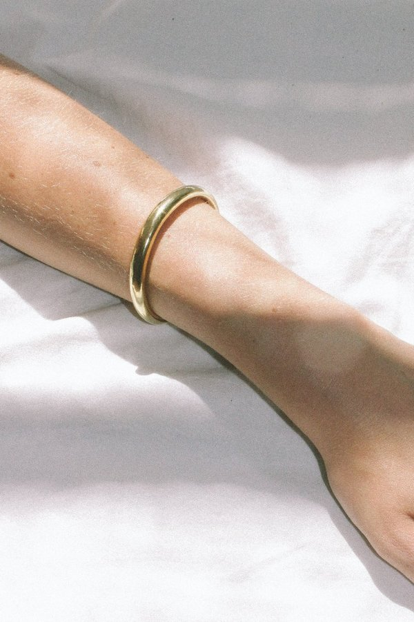 Wolf Circus Assembly Cuff Bracelet - Gold