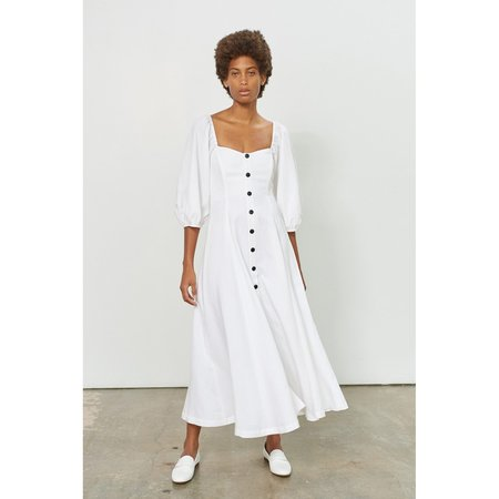 Mara Hoffman Mika Dress - White