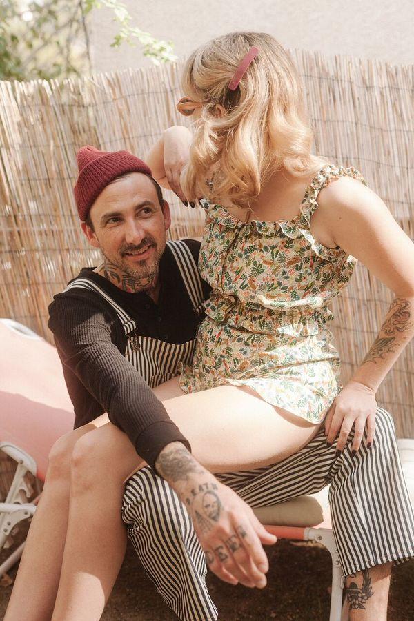 Lykke Wullf Jungle Print Barbarella Shorts