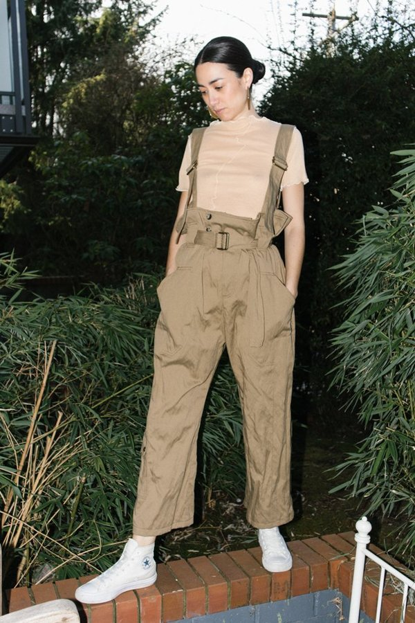Hope Zion Trousers - Khaki
