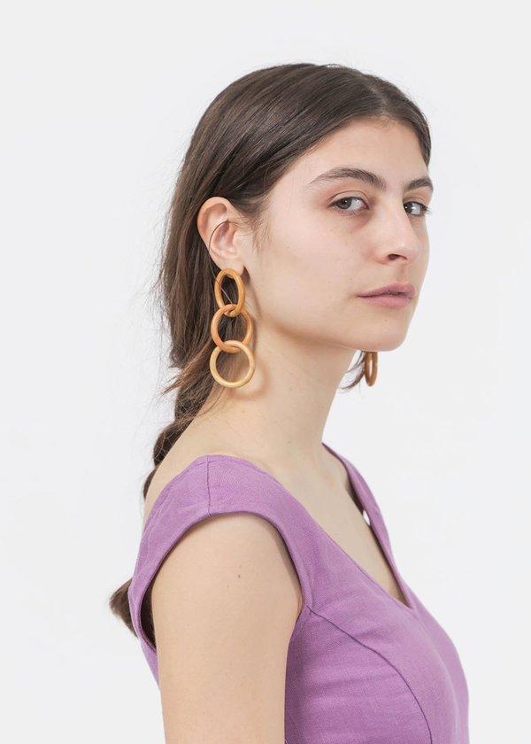 Paloma Wool Olympus Earrings - Brass