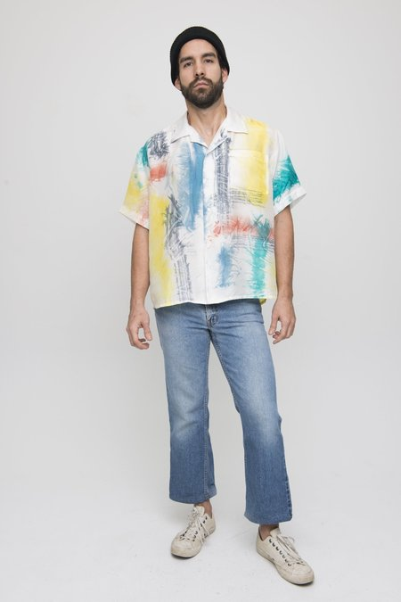 Unisex  Osei-Duro Silk Button Shirt